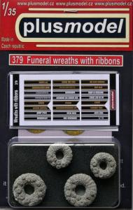 Plus Model Funeral Wreaths with Ribbons