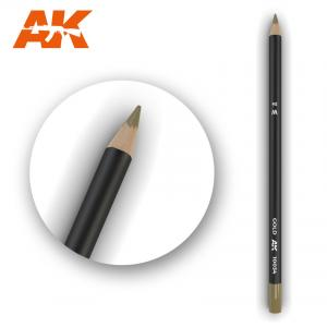 AK Interactive Watercolor Pencil Gold
