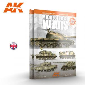 AK Interactive MIDDLE EAST WARS 1948-1973 PROFILE GUIDE VOL.1 - English