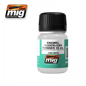 Ammo Mig Jimenez Enamel Odourless Thinner, 35ml.