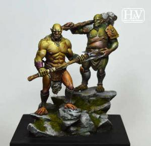 Heroes & Villains Vedrik and Dorban Orcs 54mm