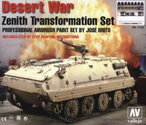 Vallejo Model Air - Desert War, Zenith Transformation Set