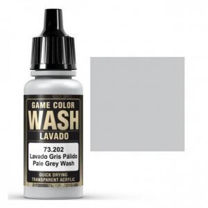 Vallejo Game Color Wash - Pale Grey Shade