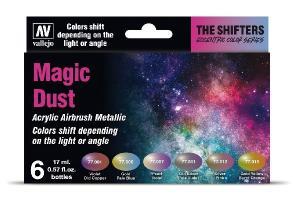Vallejo Magic Dust Colorshift Set (6 x 17 ml)