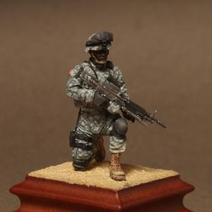 Soga Miniatures American Machine gunner in patrol group