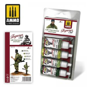 Ammo Mig Jimenez US Vietnam Uniforms Paint Set