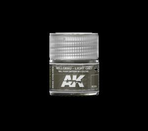 AK Interactive Hellgrau-Light Grey RAL7009 (interior color) 10ml