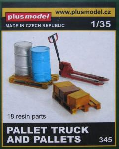 Plus Model Pallet Truck and Pallets