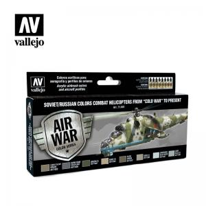 Vallejo Model Air - Soviet/Russian Colors Combat Helicopters
