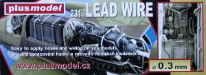 Plus Model Lead Wire 0,3 mm