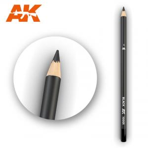 AK Interactive Watercolor Pencil Black