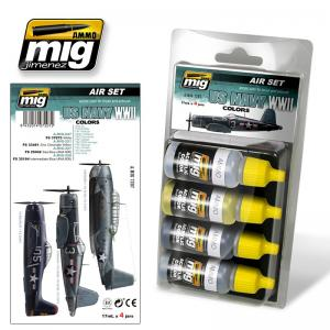 Ammo Mig Jimenez US Navy WWII Colors - Smart Set