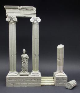 Reality in Scale Ancient Columns 56 B.C.
