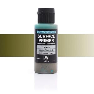 Vallejo Primer, US Olive Drab, 60 ml