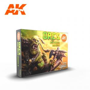 AK Interactive ORCS AND GREEN MODELS