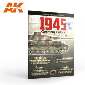 AK Interactive 1945 GERMAN COLORS PROFILE GUIDE English
