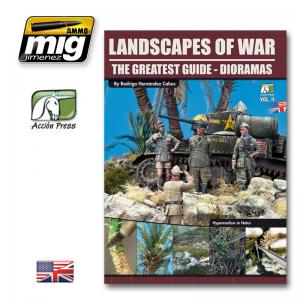 Ammo Mig Jimenez Landscapes of War: The Greatest Guide - Dioramas vol. 2
