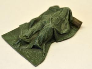 Reality in Scale Casualties of War 2 - German in winterdress - 1 resin pc. & real cotton fla