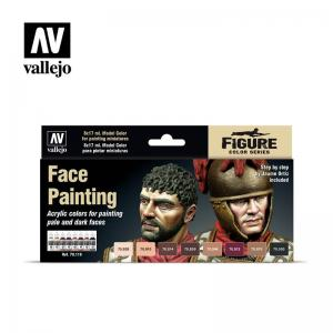 Vallejo Model Color Special Set - Face Painting (x8)