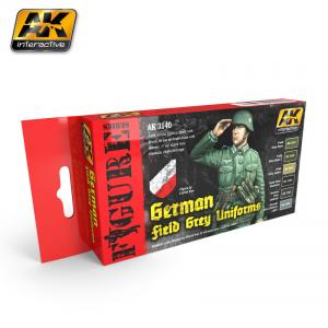 AK Interactive GERMAN FIELD GREY UNIFORMS