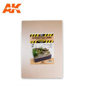 AK Interactive EXTRUDED FOAM 30 MM A4 SIZE