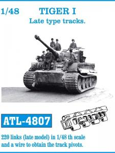 "Friulmodel Tiger I ""Late Type"" - Track Links"