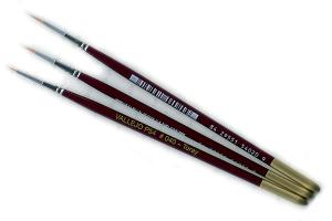 Vallejo Toray Brush Set (4/0, 3/0, 2/0)