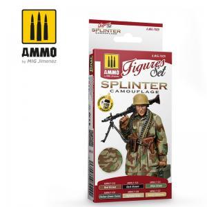 Ammo Mig Jimenez SPLINTER CAMOUFLAGE SET