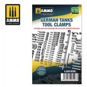 Ammo Mig Jimenez German Tanks Tool Clamps