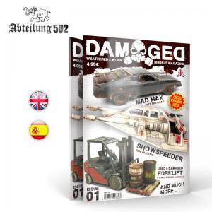 Abteilung 502 DAMAGED, Worn and Weathered Models Magazine - 01 (English)