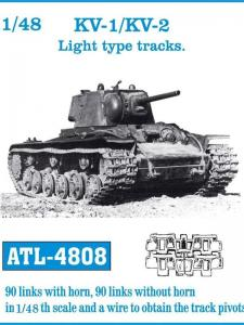 "Friulmodel KV-1/KV-2 ""Light Type"" - Track Links"