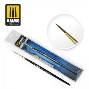 Ammo Mig Jimenez #2 Premium Marta Kolinsky Round Brush