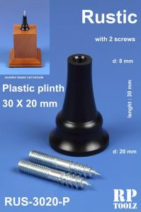 RP Toolz Plinth, Rustic 30 x 20 mm, Plastic