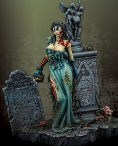 Michael Kontraros Zombie Queen 54 mm