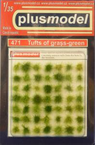 Plus Model Tufts of grass (green)