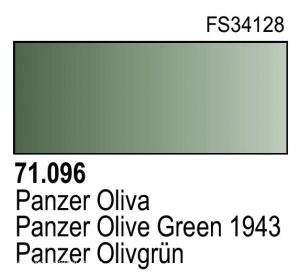 Vallejo Model Air 096 - Panzer Olive Green 1943