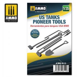 Ammo Mig Jimenez US Tanks Pioneer Tools
