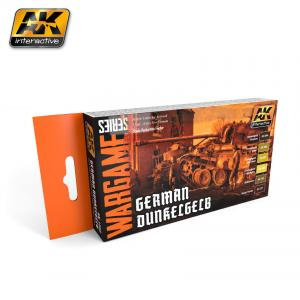 AK Interactive GERMAN DUNKELGELB COLORS SET