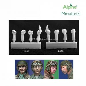 Alpine Minatures US Tanker Heads & Hands