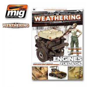 Ammo Mig Jimenez The Weathering Magazine #4, Enginge, Grease and Oil