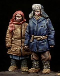 Bodi Boy & Girl WWII period