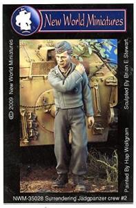 New World Miniatures Surrendering Jadgpanzer crew #2