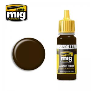 Ammo Mig Jimenez BURNT BROWN RED