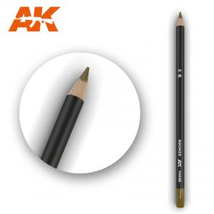 AK Interactive Watercolor Pencil Bronze