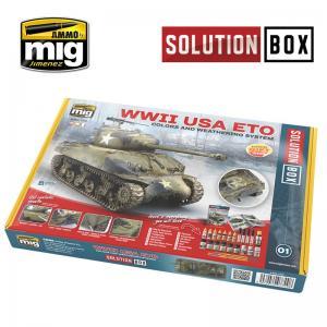 Ammo Mig Jimenez WWII American ETO Suolution Box