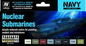 Vallejo Model Air - Nuclear Submarines Paint Set