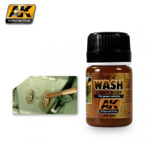 AK Interactive Light Rust Wash