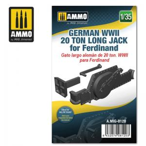 Ammo Mig Jimenez German WWII 20 ton Long Jack for Ferdinand