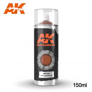 AK Interactive Rust Basecoat - Spray 150ml