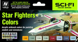 Vallejo Model Air - Star Fighters Colors Paint Set